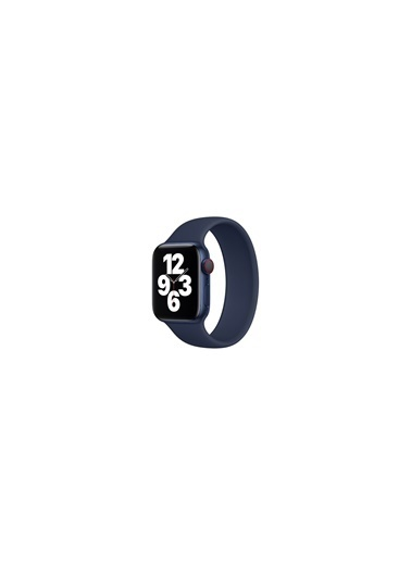 Jacobson Apple Kordon Solo Loop Watch 6 42Mm-44Mm Kordon Kayış Lacivert